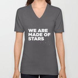 We Are Made Of Stars Unisex V-Neck