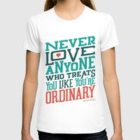 oscar wilde T-shirts featuring Never Ordinary - Oscar Wilde by COOP CO