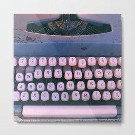 #01#Typewriter#vintage#machine Metal Print