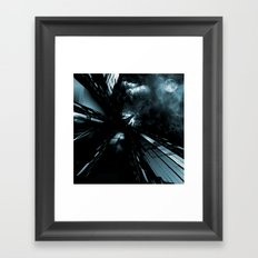 Daydreams Like Mainframes 006: Eclipse Framed Art Print