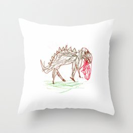 what's for lunch today? Throw Pillow