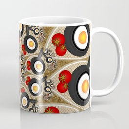 Brunch, Fractal Art Fantasy Coffee Mug