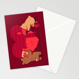 Building Our Love Stationery Cards