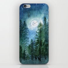 Silent Forest iPhone Skin