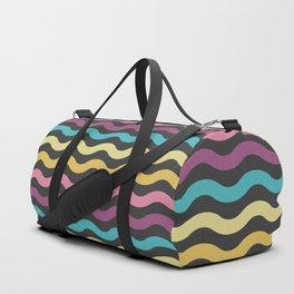 Rainbow Waves Duffle Bag