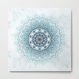 Frankfurter Mandala Metal Print