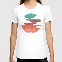 surf T-shirts featuring Go West by Picomodi