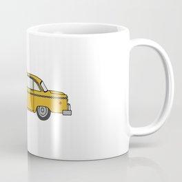 NYC Taxi Cab | NYC Checker Cab | Vintage NYC Taxi Cab Coffee Mug