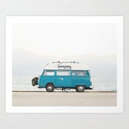 Malibu Roadtrip Art Print