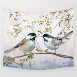Chickadee Wall Tapestry