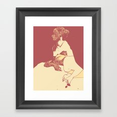 Gaze - 2 Framed Art Print