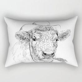 Cowby cow Rectangular Pillow
