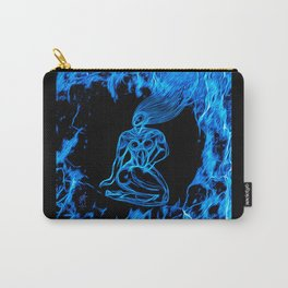 Blue Fire Carry-All Pouch
