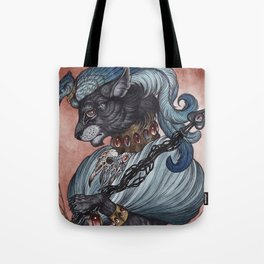 Jack of Spades art print Tote Bag