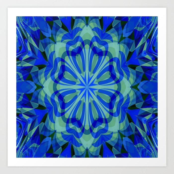 Healing Mandala Kunstdrucke