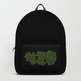 420 - Cannabis Blooms Letters - Weed Hemp Backpack