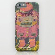 lumberjack girl portrait (sister nature's evil twin) iPhone 6s Slim Case