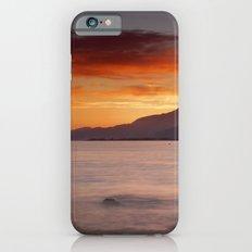 Mediterranean sunset.  Summer days. Slim Case iPhone 6s