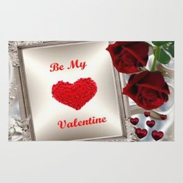 Be My Valentine 2 Rug