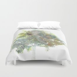 Where the sea sings to the trees - 11 Duvet Cover