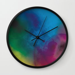 Other Worlds Wall Clock