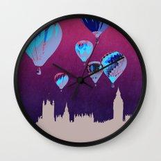 Sky of London Wall Clock