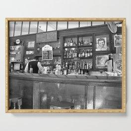 Bar in Old Havana, Cuba Serving Tray