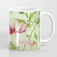 magnolia Mugs featuring Magnolia by CatDesignz