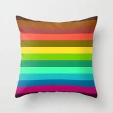 Colors LAB  Throw Pillow