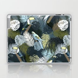 Toucan&Parrot (Blue-Green) Laptop & iPad Skin