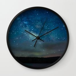 Milky Way Wall Clock