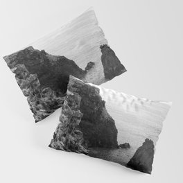 Seascape with monolith Pillow Sham