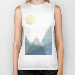 Geo Mountains Biker Tank