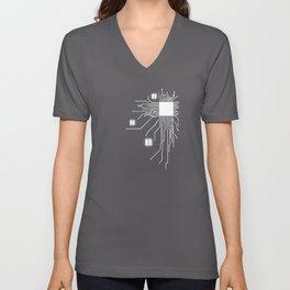 Geek CPU Unisex V-Neck