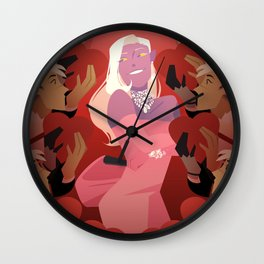 VLD: Clones are a Prince's Best Friend Wall Clock