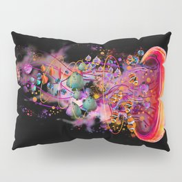 Electric Jellyfish World Revisited 2018 Pillow Sham