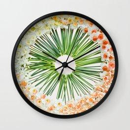 Daffodil Ring Wall Clock