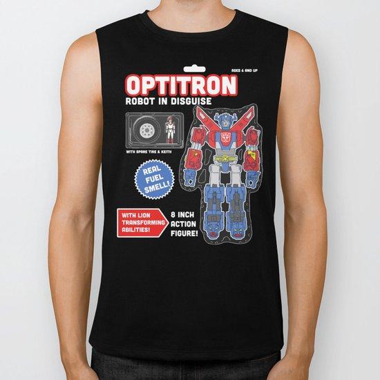 Optitron: Robot in Disguise Biker Tank
