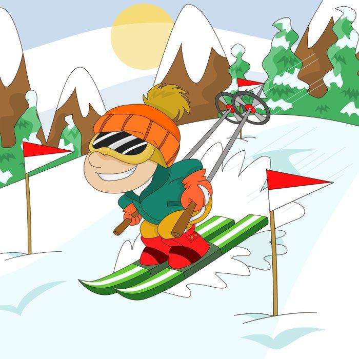 Winter Sports: Skiing Comforters