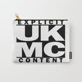 UK MC Explicit Content Carry-All Pouch