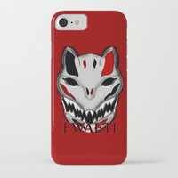 werewolf iPhone & iPod Cases featuring WereWolf by FWAETI