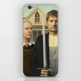 The Odd Couple iPhone Skin