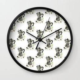Morning ritual Wall Clock
