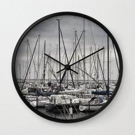 Harbor Wall Clock