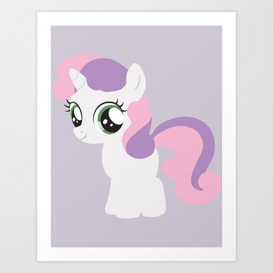 Sweetie Belle Art Print