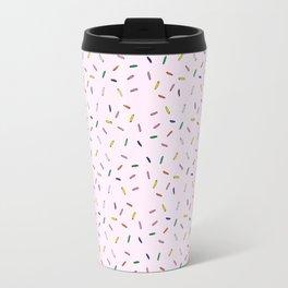 Sprinkles Pattern Travel Mug