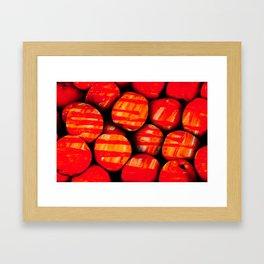 Fruits and berrys IV Framed Art Print