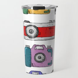 Retro Camera PNG Travel Mug