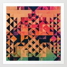 nyxt Art Print