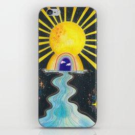 Sun portal iPhone Skin